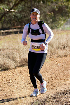 2011 75km Women's Winner Sharryn Macgowan