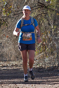 2011 100km Women's Winner Michelle Pude