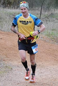 100km Record Holder Scott Hawker